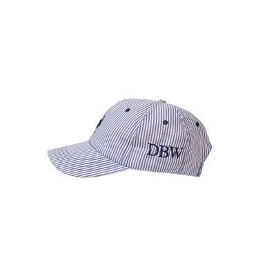 Covington Cap - Blue Oxford Stripe