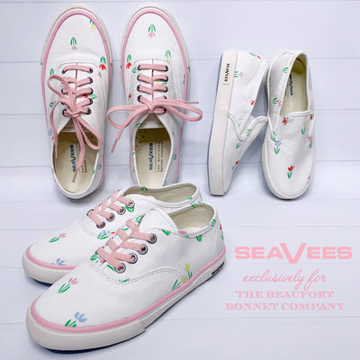 SeaVees Legend Sneaker (Ladies) - Travilah Tulip