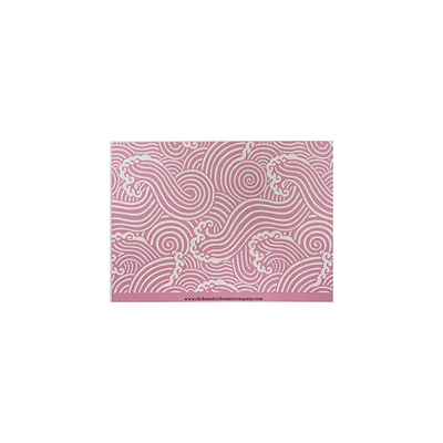 Stationery - Wilmington Waves - Hamptons Hot Pink