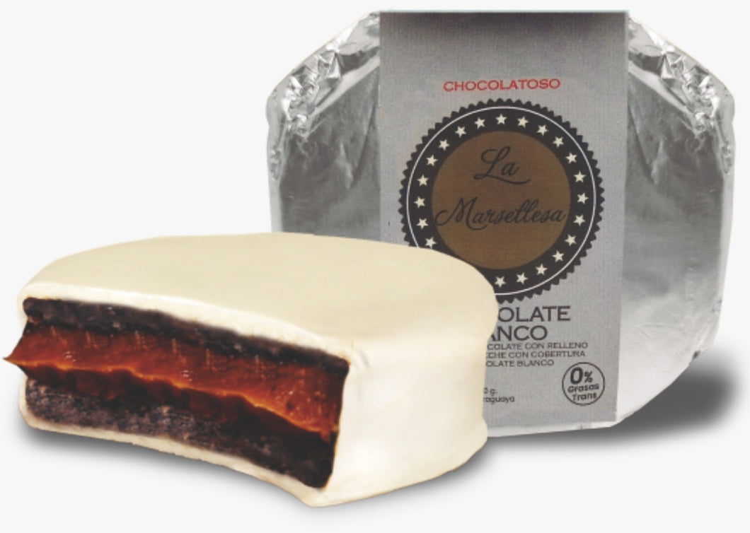 Alfajor Chocolatoso Blanco
