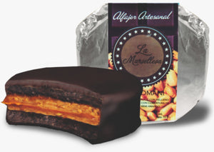 Alfajor Chocolatoso de Chocomani