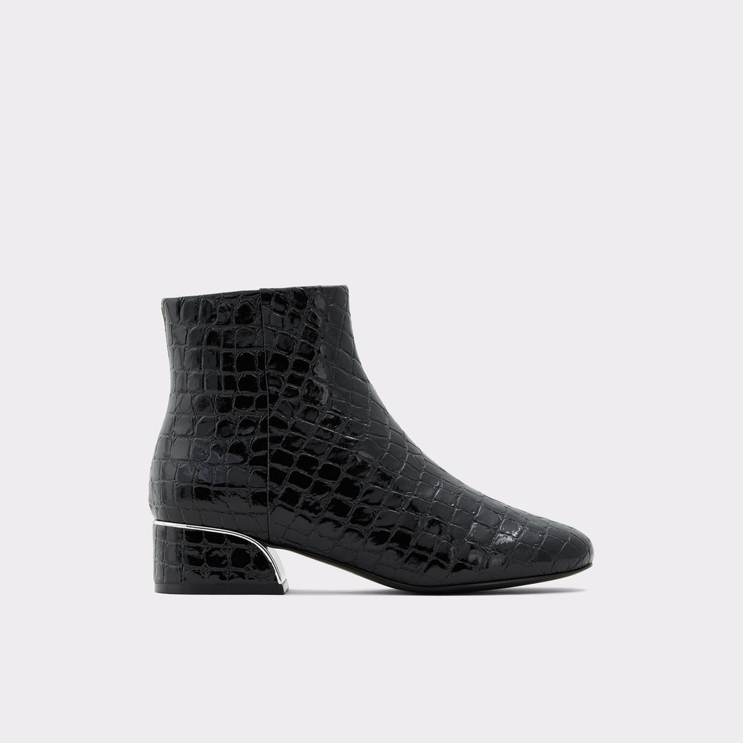 Botas Trisignata Black Synthetic Croco