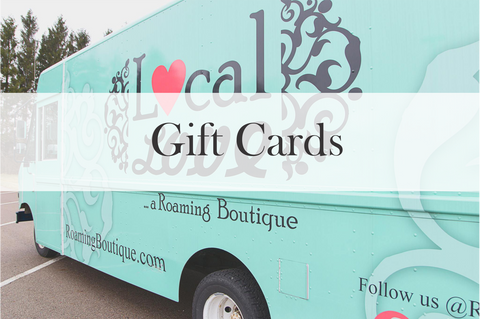Roaming Boutique Gift Card