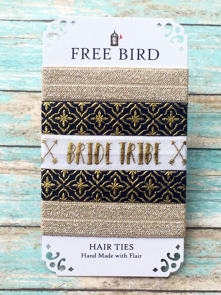 Free Bird Bride Tribe Hair Ties