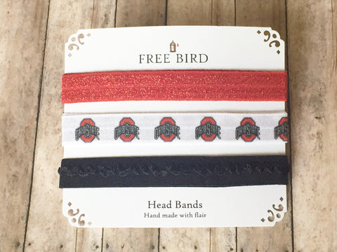 Free Bird Go Bucks Headbands