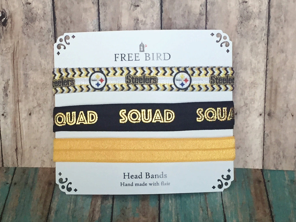Free Bird Steelers Headbands
