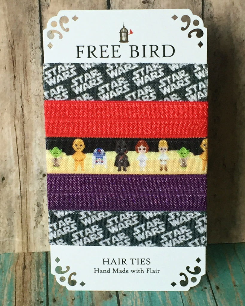 Free Bird Star Wars Hair Ties
