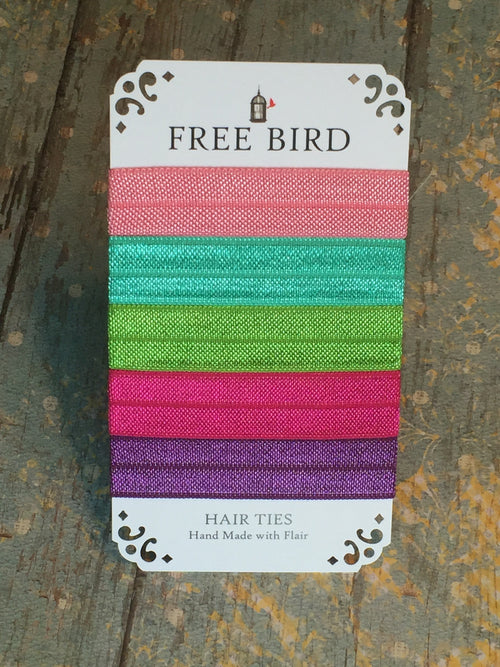 Free Bird Brights Hair Ties