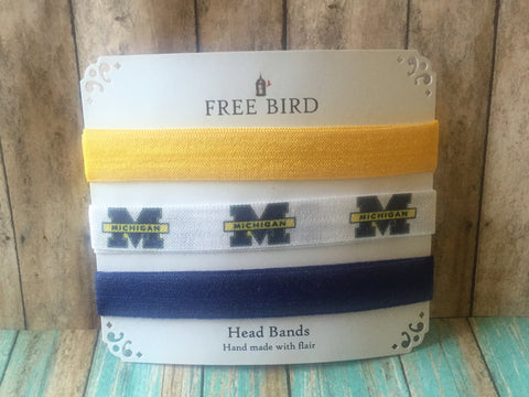 Free Bird Michigan Headbands