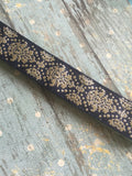 WS Free Bird Metallic Damask No Slip Headband