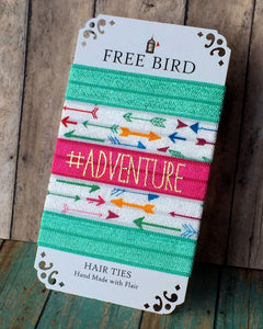 Free Bird Adventure Hair Ties