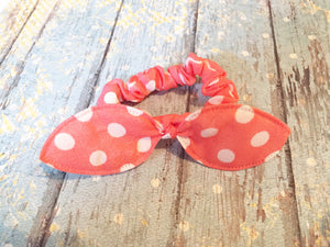 Free Bird White Polka Dot Bow Ties