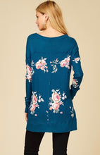 Load image into Gallery viewer, Floral Tunic Top
