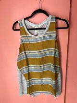 Yellow Striped with Cute Back