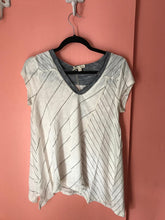 Load image into Gallery viewer, Short Sleeve asymmetrical Top