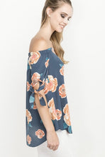 Load image into Gallery viewer, Floral Off the Shoulder