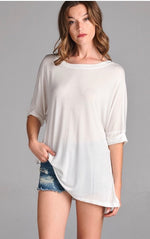 Ivory Tunic Top