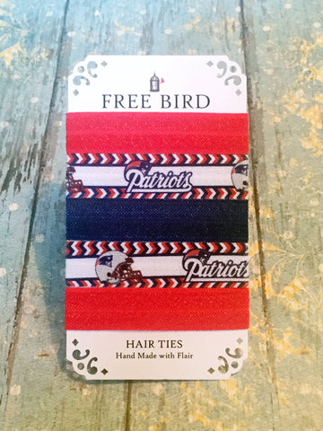 Free Bird Patriots Hair Ties