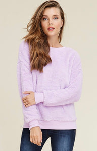 Lavender Cozy Top