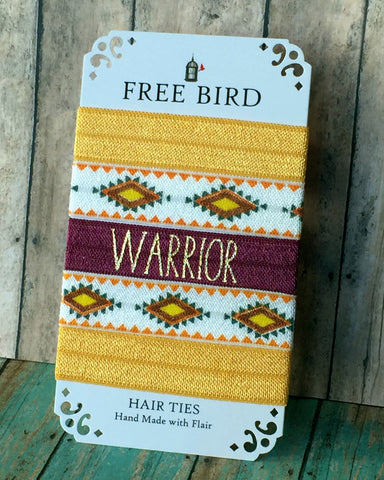 Free Bird Warrior Hair Ties