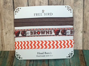 Free Bird Browns Head Bands