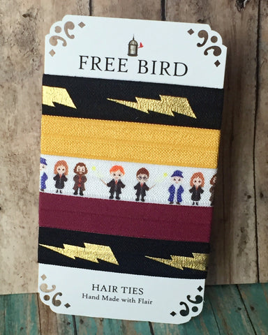 Free Bird Wizardly Hair Ties