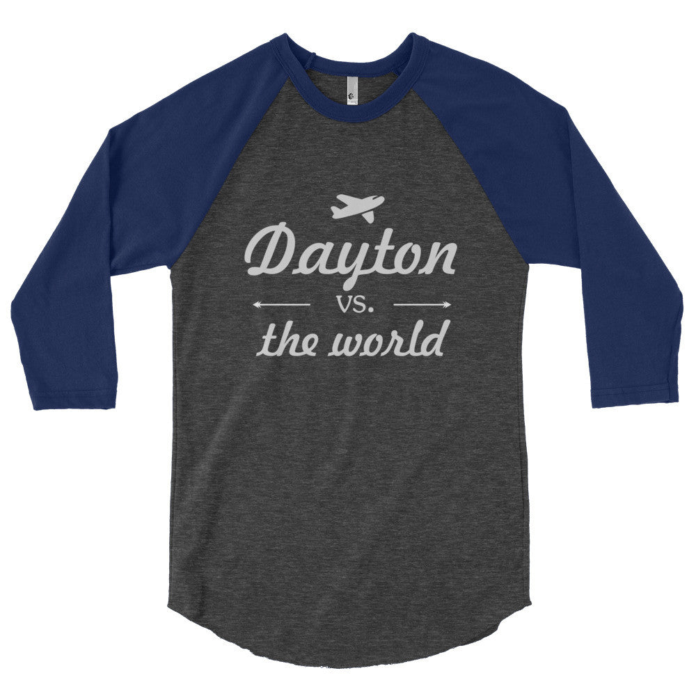 Dayton vs The World baseball tee