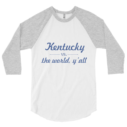 Kentucky vs Y'all Baseball Tee