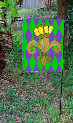 Mardi Gras Flags – Art Gifts by the Beach