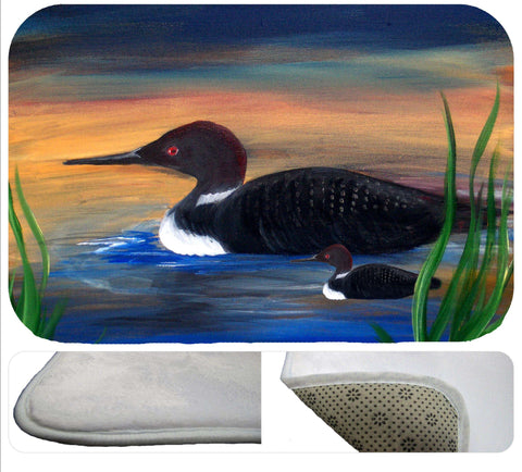 Loon lake soft non-skid floor mat