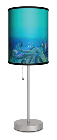Octopus under the sea accent lamp