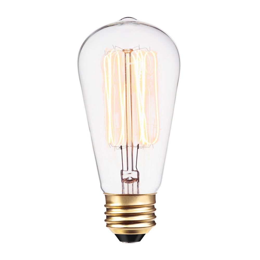Vintage Style Edison Light Bulb 120V 60W E26 Base B-01 - Worth Home Products