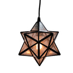 Load image into Gallery viewer, Instant Pendant Recessed Conversion Kit Bronze Moravian Star  PKN-4724 - Worth Home Products