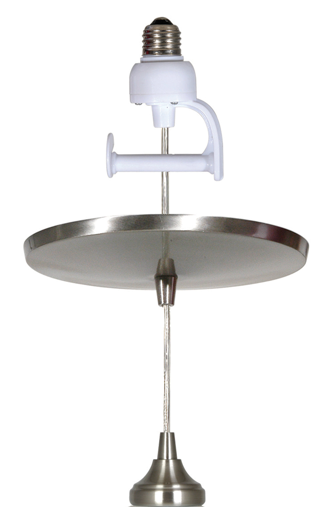 Instant Pendant Light - Brushed Nickel Adapter only PAN-1100 - Worth Home Products