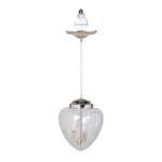 Load image into Gallery viewer, Instant Pendant Recessed 3 Light Conversion Kit Polished Nickel Mini Chandelier PBC-1131 - Worth Home Products