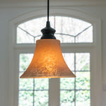 "Load image into Gallery viewer, Instant Pendant Light with 8"" Scavo Glass Shade - Worth Home Products"