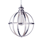 Load image into Gallery viewer, Instant Pendant Light with Brushed Nickel Cage Shade - Worth Home Products