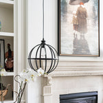 Load image into Gallery viewer, Instant Pendant Light Bronze Cage Shade - Worth Home Products -PBN-4034-0011 - Worth Home Products