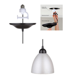 Load image into Gallery viewer, Instant Pendant Light Etched White Glass Shade  PBN-0417-3200HK