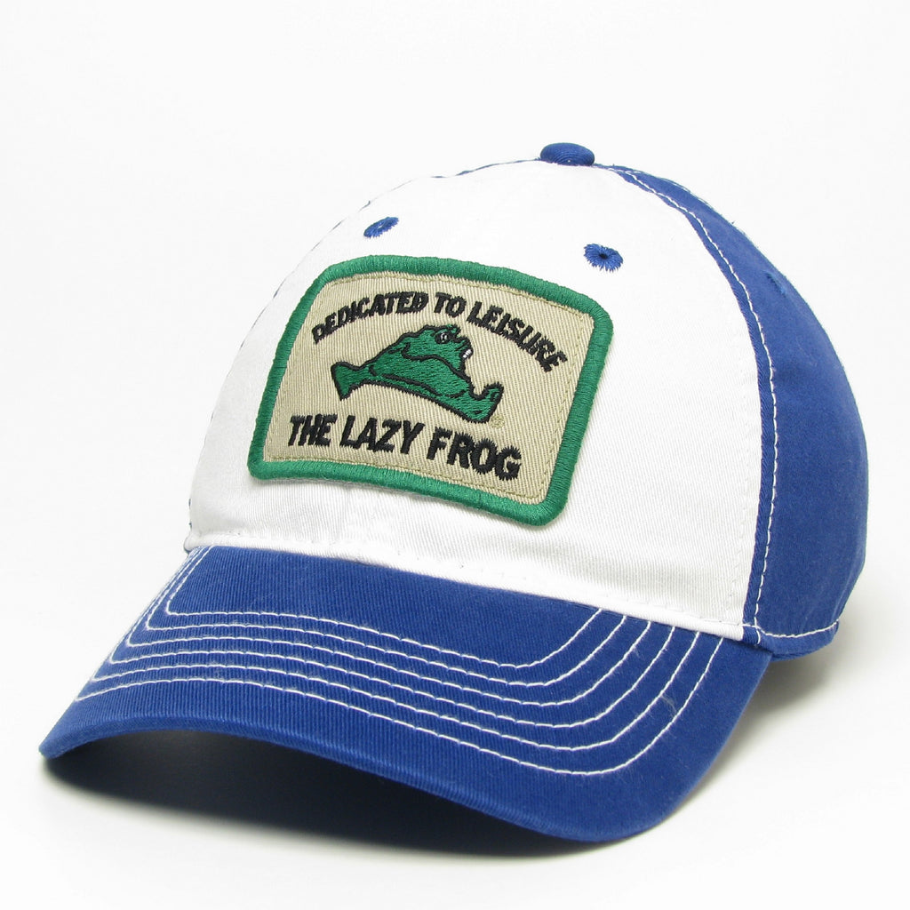 Lazy Frog Baseball 2 Tone Hat