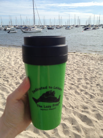 Lazy Frog Travel Mug