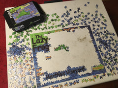 Lazy frog Map Puzzle