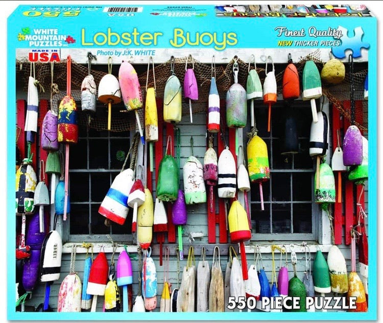 Puzzle Lobster Buoys