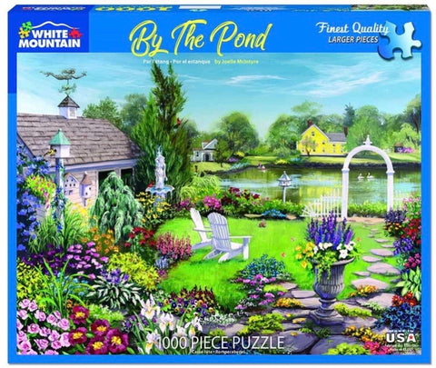 Puzzle By the Pond