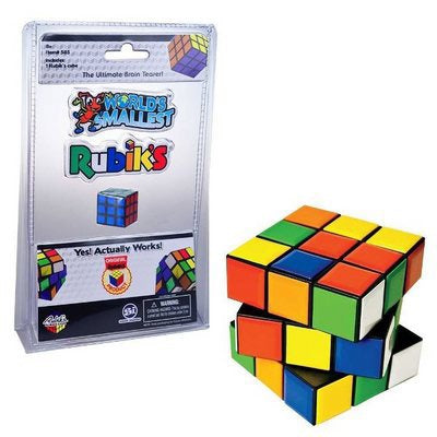 Rubik's Cube World's Smallest