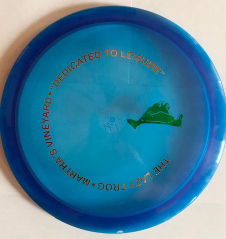 Lazy Frog Disc Golf Champ