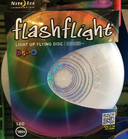Light Up Flashlight Flying disc