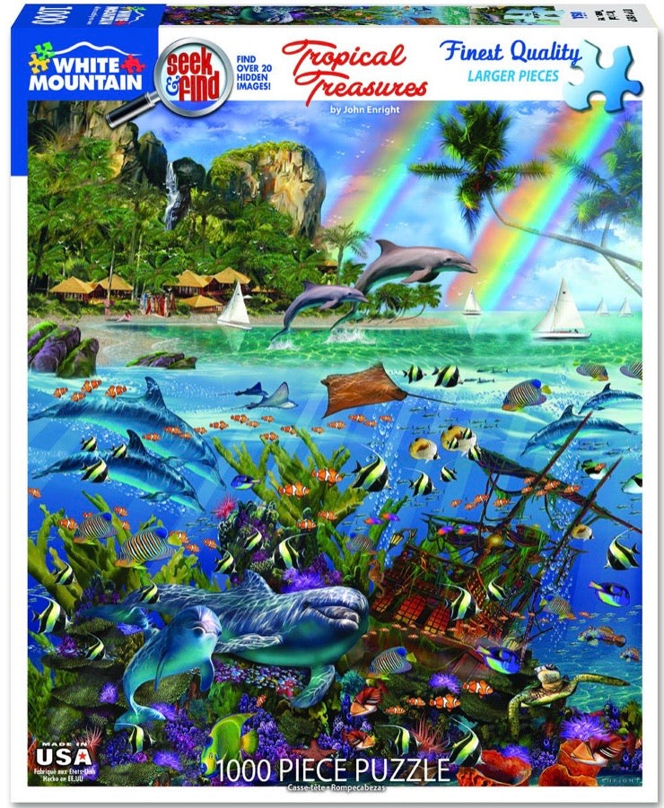Puzzle Tropical Treasures