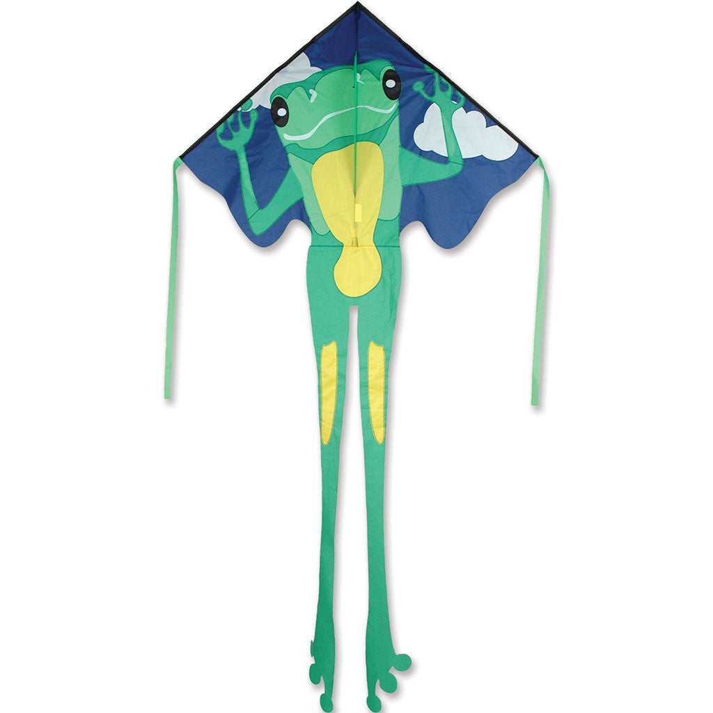 Kite Green Frog Easy Flyer