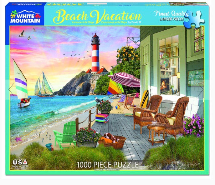 Puzzle Beach Vacation
